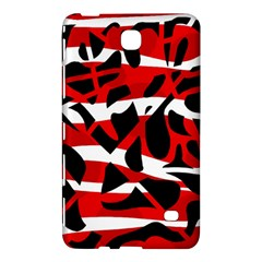 Red chaos Samsung Galaxy Tab 4 (8 ) Hardshell Case