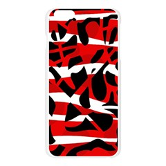 Red chaos Apple Seamless iPhone 6 Plus/6S Plus Case (Transparent)
