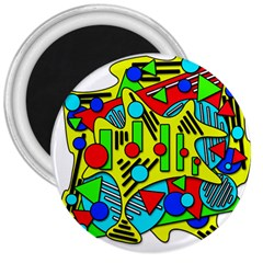 Colorful chaos 3  Magnets