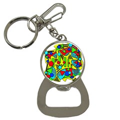 Colorful chaos Bottle Opener Key Chains
