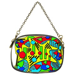 Colorful chaos Chain Purses (One Side)