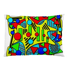 Colorful chaos Pillow Case (Two Sides)