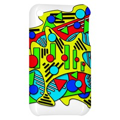 Colorful chaos Apple iPhone 3G/3GS Hardshell Case