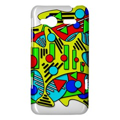 Colorful chaos HTC Radar Hardshell Case