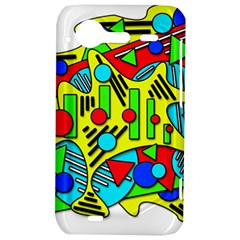 Colorful chaos HTC Incredible S Hardshell Case