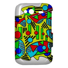 Colorful chaos HTC Wildfire S A510e Hardshell Case