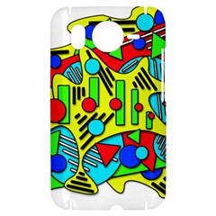 Colorful chaos HTC Desire HD Hardshell Case