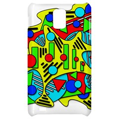 Colorful chaos Samsung Infuse 4G Hardshell Case