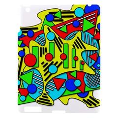 Colorful chaos Apple iPad 3/4 Hardshell Case