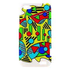 Colorful chaos HTC One V Hardshell Case
