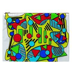 Colorful chaos Cosmetic Bag (XXL)