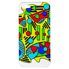 Colorful chaos Apple iPhone 5 Hardshell Case