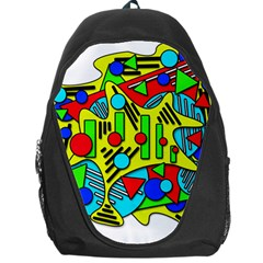 Colorful chaos Backpack Bag
