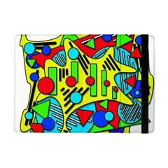Colorful chaos Apple iPad Mini Flip Case