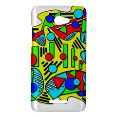 Colorful chaos HTC Butterfly X920E Hardshell Case