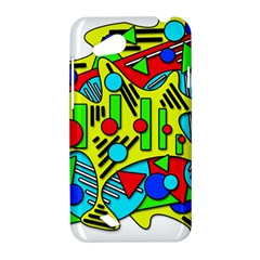 Colorful chaos HTC Desire VC (T328D) Hardshell Case