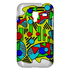 Colorful chaos Samsung Galaxy Ace Plus S7500 Hardshell Case
