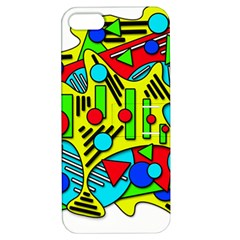 Colorful chaos Apple iPhone 5 Hardshell Case with Stand