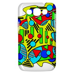 Colorful chaos Samsung Galaxy Win I8550 Hardshell Case