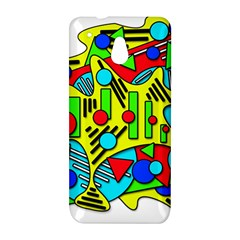 Colorful chaos HTC One Mini (601e) M4 Hardshell Case