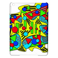 Colorful chaos iPad Air Hardshell Cases