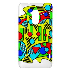 Colorful chaos HTC One Max (T6) Hardshell Case