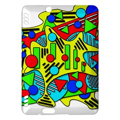 Colorful chaos Kindle Fire HDX Hardshell Case
