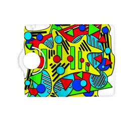 Colorful chaos Kindle Fire HD (2013) Flip 360 Case