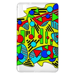 Colorful chaos Samsung Galaxy Tab Pro 8.4 Hardshell Case