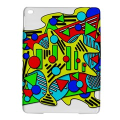 Colorful chaos iPad Air 2 Hardshell Cases