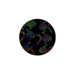 Decorative fish Golf Ball Marker (4 pack)