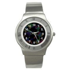 Decorative fish Stainless Steel Watch