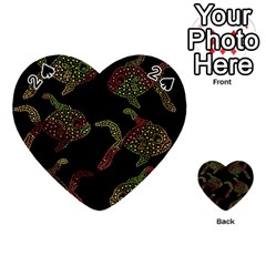 Decorative fish pattern Playing Cards 54 (Heart)