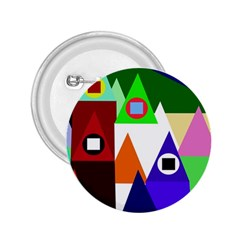 Colorful houses  2.25  Buttons