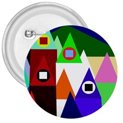 Colorful houses  3  Buttons