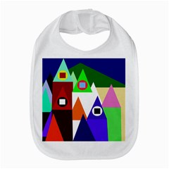Colorful Houses  Bib