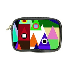 Colorful houses  Coin Purse