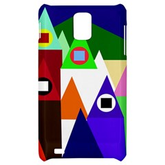 Colorful houses  Samsung Infuse 4G Hardshell Case