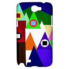 Colorful houses  Samsung Galaxy Note 2 Hardshell Case