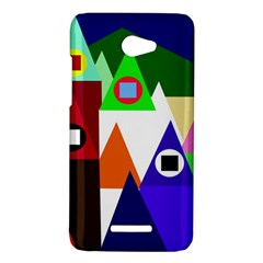 Colorful houses  HTC Butterfly X920E Hardshell Case