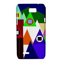 Colorful houses  Motorola XT788