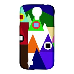 Colorful houses  Samsung Galaxy S4 Classic Hardshell Case (PC+Silicone)
