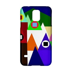 Colorful houses  Samsung Galaxy S5 Hardshell Case