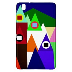 Colorful houses  Samsung Galaxy Tab Pro 8.4 Hardshell Case
