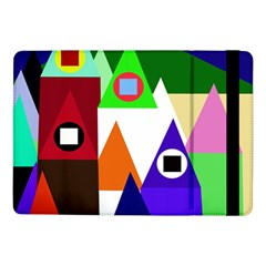 Colorful houses  Samsung Galaxy Tab Pro 10.1  Flip Case