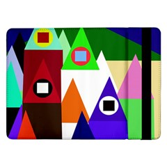 Colorful houses  Samsung Galaxy Tab Pro 12.2  Flip Case