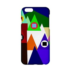 Colorful houses  Apple iPhone 6/6S Hardshell Case