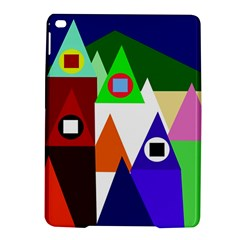 Colorful houses  iPad Air 2 Hardshell Cases