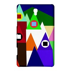 Colorful houses  Samsung Galaxy Tab S (8.4 ) Hardshell Case