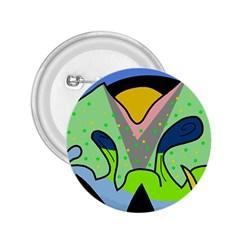 Colorful landscape 2.25  Buttons